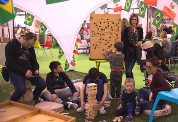 L'Espace Enfants sur le Salon du Bien-Être de Périgueux