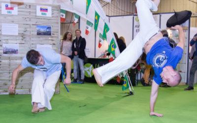 """De la Capoeira """"Invité d'Honneur - l'Amérique Latine en 2017"""" sur le Salon Bien-Être de Périgueux"""